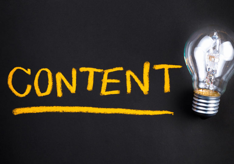Как правильно подать контент на сайте